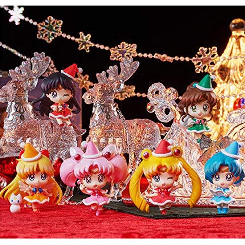 Unbekannt Premium Bandai Sailor Moon Figure~Petit Chara~Chirstmas X'Mas Special~PVC ()