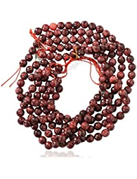 Red Color Quartz Faceted Round Ball Loose Gemstone Beads, Red Color With Black Tints, Jewelry Making, Wholesale...