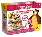 Lisciani Giochi 52035 - Masha e Orso Grande Raccolta Giochi, Multicolore