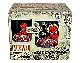 Marvel Comics SPIDER-MAN Tasse mit Thermo-Effekt: Bei Heißgetränken ändert sich das Motiv!