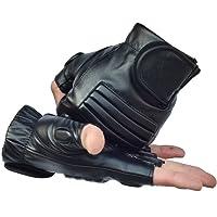 codomoxo® - Guanti tattici militari all'aria aperta, mezze frese, combattimento, antiscivolo, da uomo, per sport