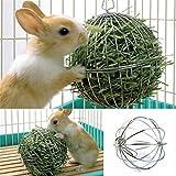 JWBOSS Esercizio di dispensazione di mangime Appesa palla di fieno Porcellino d'India Criceto Coniglio Fornitura di animali Toy-picture color-