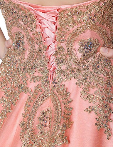 Sarahbridal Damen Mermaid Geblümt Abendkleider Bodenlang Bandeau Rückenfrei Partykleider SLX359 Weiß