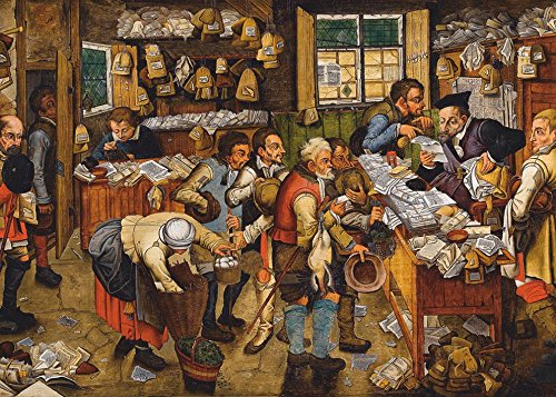 Unbekannt Puzle de 1000 Piezas, diseño de Brueghel Pieter de los más jóvenes