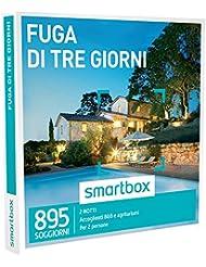 Smartbox - Cofanetto Regalo - Fuga di tre giorni - 895 soggiorni in B&B e agriturismi