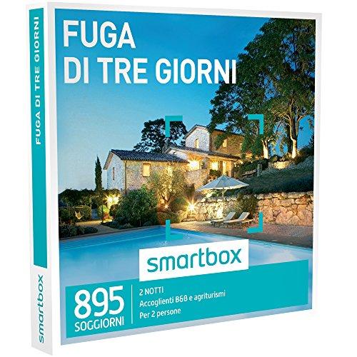 Smartbox - cofanetto regalo -fuga di due notti 2 notti per 2 persone