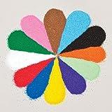 Baker Ross Minibolsas de arena de colores (Pack de 12)