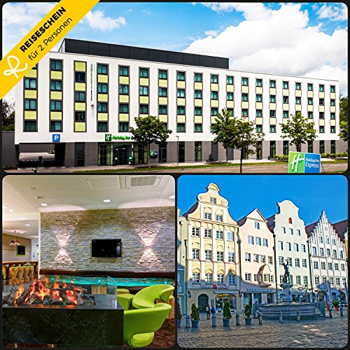 zu zweit im Holiday Inn Express Augsburg in der Fuggerstadt Augsburg - Gutschein Kurzreise Kurzurlaub Reise Geschenk ()