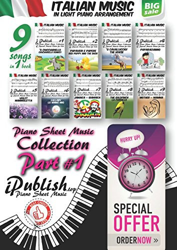 Italian Music for Kids (Italian Music Collection Arranged for Piano, Band 1)