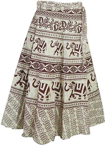 Baumwolle Wickelrock Designer Abendkleider Indien Kleidung