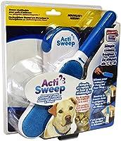 ACTISWEEP - Brosse réutilisable extra-large pour poils d'animaux et peluches avec poignée autonettoyante.