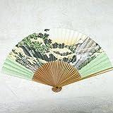 Wagami Fächer Hiroshige, japanischer Fächer mit klassischem Motiv
