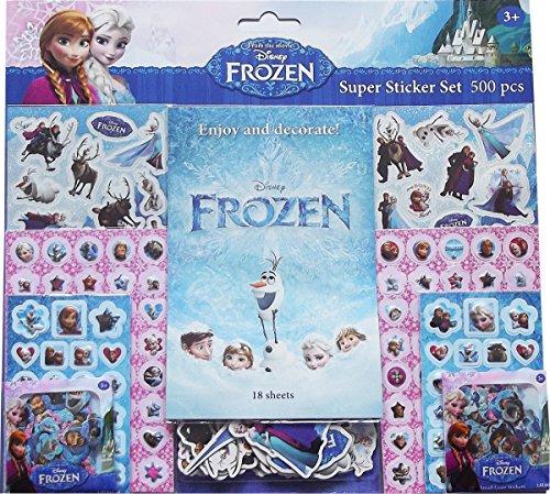 Set pegatinas Frozen (500 unidades)