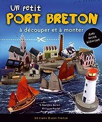 Un petit Port Breton à découper et à monter