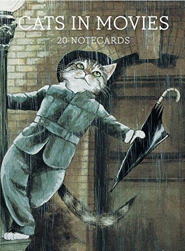 Cats in Movies: Notecards par Susan Herbert