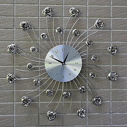 CNMKLM Design Moderno Orologio da parete per la casa decorazione legno Vintage Orologio da parete retrò Europa Style #12