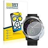 BROTECT Protector Pantalla Cristal Compatible con Garmin Vivoactive 3 / Forerunner 45 / Approach S40 Protector Pantalla Vidri