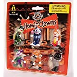Homies Clowns Series 2, set of 6!! On card, Mint! by Homieclowns