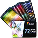 72 Lápices de Colores (Numerado) con Caja de Metal de Zenacolor - 72 - Best Reviews Guide