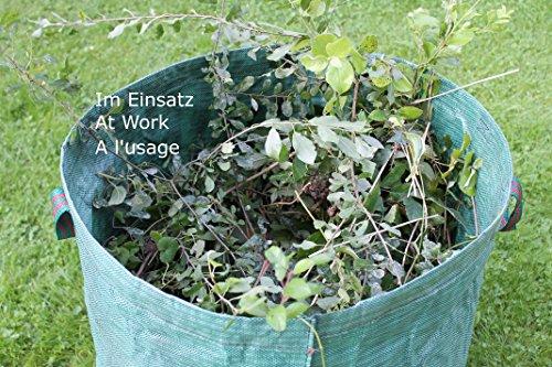 GardenMate 3x sac de déchets de jardin 272L