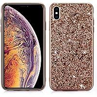 Ostop Glitzer Roségold iPhone XS 5.8 Zoll Hülle,iPhone X Hülle, Luxus Bling Glänzend Pailletten Ultra Dünn Mode... preisvergleich bei billige-tabletten.eu