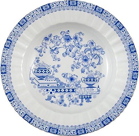 Seltmann Weiden 6-pk soup dishes porcelain blue size 23 Ø