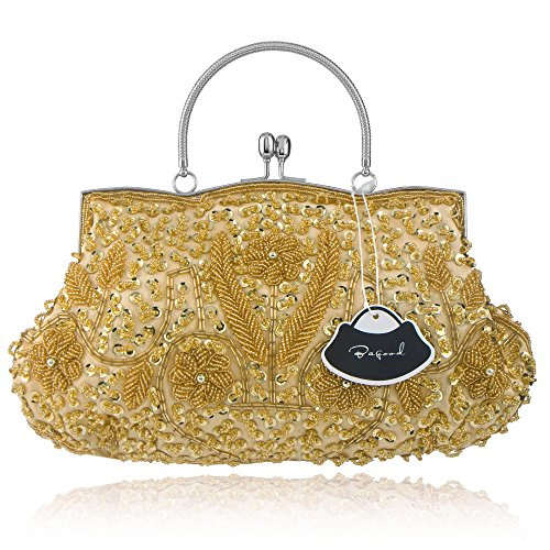 Bagood, Poschette giorno donna Gold