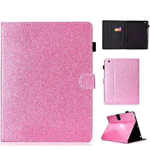 iPad 4 Hülle, Schutzhülle für iPad 4/3 / 2, altes Modell, leichtgewichtig, PU-Leder, Standfunktion, Smart Cases und Cover für Apple iPad 2, iPad 3 und iPad 4. Generation #005_Pink