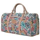 Disney klassischer Stil Übergröße Gepäck Mickey Maus Wochenende Tasche , Brown