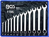 """BGS - Juego de llaves combinadas (1/4"""" - 15/16"""", 12 piezas)"""