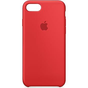 Apple iPhone 7 Silikon Hülle, Rot