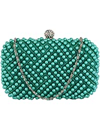 Womens Clutch Bags Ladies Beaded Style Evening Prom Party Wedding Handbags