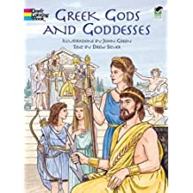 Greek Gods and Goddesses (Dover Coloring Books)