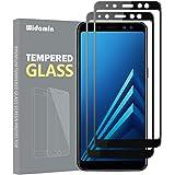 2Pack,Galaxy A8 2018 Cristal Templado,Protector Pantalla,garantía de por Vida, dureza 9H,Cristal Clearness,Resistente a los a