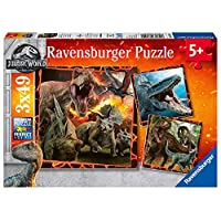 Ravensburger Jurassic World - Fallen Kingdom, 3x 49pc Jigsaw Puzzles