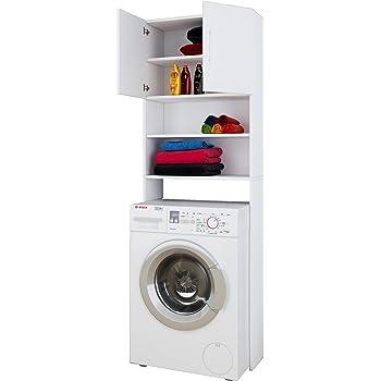 deuba badezimmerschrank f r waschmaschine waschmaschinenschrank badschrank badhochschrank. Black Bedroom Furniture Sets. Home Design Ideas