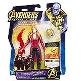 Hasbro- Avengers Infinity War Personaggio Scarlet Witch, Multicolore, E0605_E1419EU4