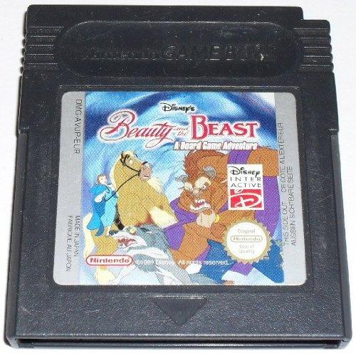 Disney Spiele Gameboy (Die Schöne und das Biest: Beauty and the Beast (GBC) lose)