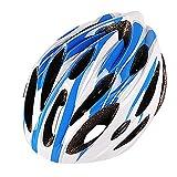 LEvifun Carbon Fahrradhelm Fahrrad Helme Schlittschuh Radsport Radfahren Helme Mountainbike Rennrad Fahrrad Leicht (Hellblau)