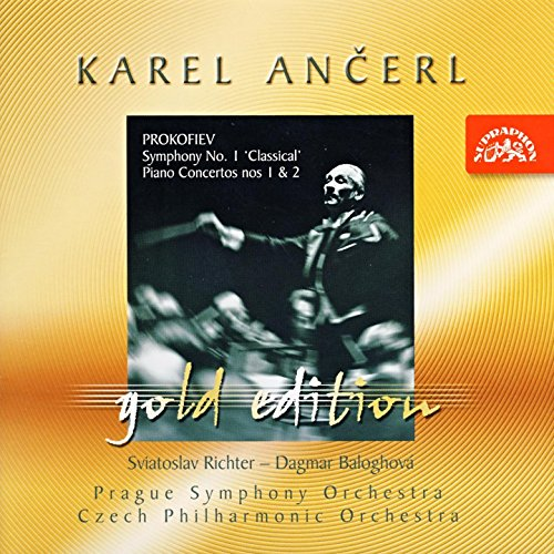 Ančerl Gold Edition 10. Prokofiev: Symphony No. 1 in D major, Concertos for Piano and Orchestra Nos 1, 2 (Symphony Prokofiev 2)