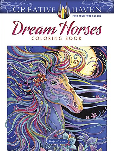 Horses Coloring Book (Adult Coloring) (Marjorie)