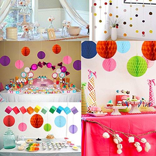 ᐅ Juslin Alles Gute Zum Geburtstag Party Dekoration Banner Und 8