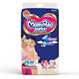 MamyPoko Pants Extra Absorb Diapers Monthly Pack, Large (9 - 14 kg), Pack of 96