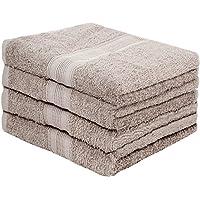 Juego de 4 toallas de rizo para sauna de Leevitex, (50 x 100 cm