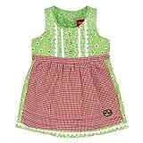 BONDI Dirndl, alloverdruck grün 86 Tracht Baby Mädchen Artikel-Nr.85806