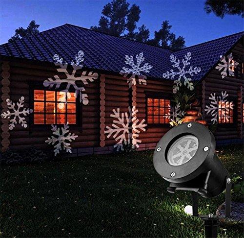 Proiettore Luci Natalizie Per Esterno Negozio.Meteor Gardenlampada Proiettore Cortile Decorazione Lanterna Natale