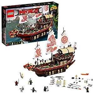 LEGO 70618 THE LEGO NINJAGO Movie Vascello del Destino (Ritirato dal Produttore) LEGO