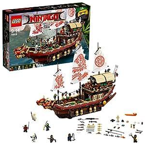 Lego Ninjago Vascello del Destino,, 70618