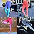 Schläuche Frauen YOGA Sport-Gymnastik-Elastic-Gamaschen Hosen Strumpfhosen Jogging Fitness Pants