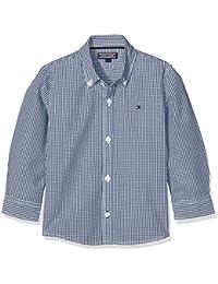 Tommy Hilfiger Ame Mini Gingham Shirt L/S, Chemise Garçon
